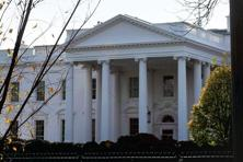 Security for reporters entering the White House appeared to be normal on Saturday morning. Photo: Reuters