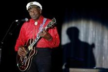 A file photo of rock and roll legend Chuck Berry. Photo: Reuters
