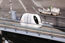 Pod taxis are personal rapid transport systems that have futuristic driverless vehicles that ply on a pre-determined course. Photo: Bloomberg