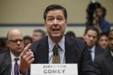 James Comey told the House Intelligence Committee that the FBI is investigating the Russian government's efforts to interfere in the 2016 presidential election. Photo: AP