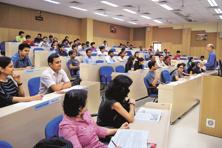 As many as 611 students took part in the campus placement process at IIM Indore. Of these, 449 belonged to the Post Graduate Programme, 100 to Integrated Programme in Management and 62 to the IIM's Mumbai campus. Photo: HT