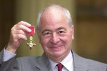A file photo of British author Colin Dexter. Photo: AP
