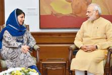 CM Mehbooba Mufti said Jammu and Kashmir needs a person like Narendra Modi at the Centre who has the mandate to take bold decisions. Photo: PTI