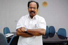 Former Congress minister Veerappa Moily . Photo: Hindustan Times