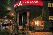 Axis Bank had reported 73% decline in net profit to Rs580 crore for the October-December quarter on account of rise in bad loans. Photo: Bloomberg