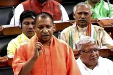 Uttar Pradesh chief minister Yogi Adityanath, who starts his day by feeding cows at a gaushala in Gorakhpur, has always supported ban on cow slaughter and publicly expressed his views. Photo: PTI