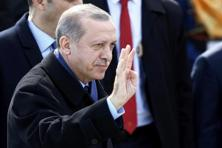 Turkish President Recep Tayyip Erdogan, who has also taken similar aim at the Netherlands, didn't sound conciliatory. Photo: Reuters