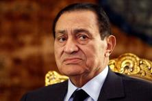 Hosni Mubarak was accused of inciting the deaths of protesters during the 18-day revolt, in which about 850 people were killed as police clashed with demonstrators. Photo: Reuters