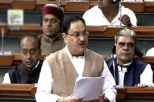 Health minister J P Nadda said the government has taken a number of steps to improve the health sector. Photo: PTI