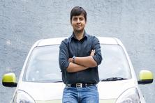 Ola CEO Bhavish Aggarwal. Mahindra and Ola have a partnership wherein the former will finance vehicles for more than 40,000 of Ola's drivers by 2018.