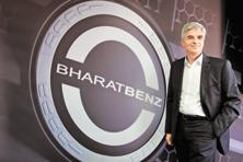 Erich Nesselhauf, managing director, Daimler India Commercial Vehicles. Bharat Benz, which has been in the Indian truck market for five years, has been selling its products at a premium of 15% to rival offerings. Photo: AFP