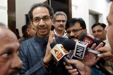 Shiv Sena chief Uddhav Thackeray. Photo: PTI