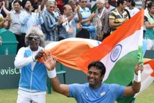 Leander Paes's career win/loss ratio of 1.78 is better than the current top-ranked Indian doubles players. Photo: HT