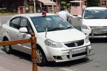 Seeking to end the VIP culture, the Union Cabinet on Wednesday decided that beacon lights will be removed from all vehicles, except emergency vehicles, like ambulances and fire brigade. Photo: AFP