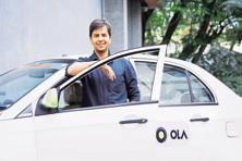 Ola founder Bhavish Aggarwal. Ola's valuation dropped to $3 billion after SoftBank's investment in November.