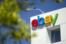 EBay gained 2 million active buyers in the first quarter to 169 million, a 4% gain from the period a year earlier. Photo: Bloomberg