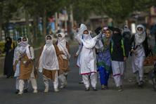 Kashmir's students have been clashing with security forces over the last many days. Photo: Associated Press
