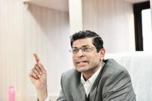 A file photo of Insolvency and Bankruptcy Board of India chairperson M.S. Sahoo. Photo: Mint