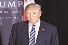 A file photo of Donald Trump. H1B visas are aimed at foreign nationals in occupations that generally require specialised knowledge, such as science, engineering or computer programming. Photo: Bloomberg