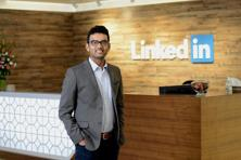 LinkedIn India head, Akshay Kothari. LinkedIn has five lines of business in India: talent and marketing solutions,  sales and learning solutions, and premium subscriptions. Photo: Hemant Mishra/Mint