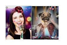 Face & Emoji app can make your selfies come to life by letting you apply emojis, stickers, funny animal faces on them.