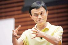 Jack Ma hit out at the traditional banking industry, saying that lending must be available to more members of society. Photo: Bloomberg