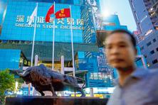 The Shenzhen Stock Exchange had average daily turnover of about $50 billion in 2016. Photo: Bloomberg