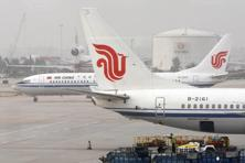 Air China is the only foreign carrier operating regular commercial flights to North Korea. Photo: Doug Kanter/Bloomberg