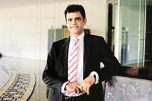 Anuj Puri is currently  setting up his new office at Mumbai's Bandra Kurla Complex where he has recently bought  13,000 sq.ft  for around Rs40 crore. Photo: Pradeep Gaur/ Mint