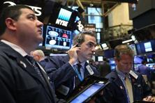 The Dow Jones Industrial Average was up 0.89% at 20,947.91, the S&P 500 was up 0.41% at 2,383.86. Photo: Getty Images/AFP
