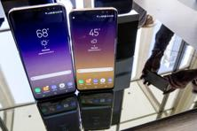 Samsung is pinning its hopes on its flagship smartphone offering, Galaxy S8, which launched in the US on 21 April, after the Note 7 debacle last year. Photo: AP