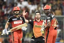 Virat Kohli-led Royal Challengers Bangalore has lost six out of their nine games and are second-last on the table with five points in their kitty. Photo: Hindustan Times