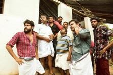A still from 'Angamaly Diaries'.