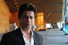 Shah Rukh Khan poses for a photo after giving a talk at a TED Conference in Vancouver on 27 April, 2017. Photo: AFP/Glenn Chapman