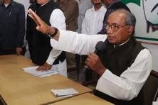 A file photo of Congress leader Digvijaya Singh. Photo: HT