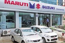 Shares of Maruti Suzuki closed at a record high of Rs6,690 on BSE, 2.52% from previous close with market capitalization of Rs2.02 trillion. Photo: Ramesh Pathania/Mint