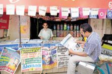 Print circulation in India has grown at a compounded annual growth rate of 4.87% between the end of 2006 and the end of 2016, to 62 million copies a day, the ABS has said. Photo: Mint
