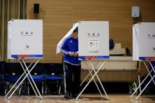Polls will close at 8pm, with exit polls will be released shortly after ward. A winner is expected sometime around midnight in Seoul. Photo: Reuters