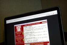 'WannaCry' or ransomware is a malware that encrypts content on infected systems and demands payment in bit coins. Photo: AP