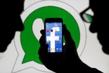 The fine from Europe's powerful antitrust authority caps months of probes from privacy regulators over the WhatsApp data move. Facebook agreed to suspend using data from British users of WhatsApp last year amid UK scrutiny. Photo: Reuters