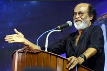 The Tamil superstar's political stand has been a much speculated topic since 1996 when he made a strong political comment that impacted that year's election results. Photo: PTI