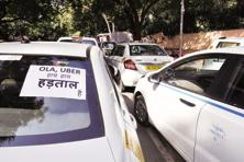 Recognizing taxi drivers as employees would dent the much vaunted asset-light model of Ola and Uber. Photo: HT