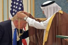 Donald Trump received a warmer welcome in Saudi Arabia than his predecessor, Barack Obama, who was seen by the Saudis as soft on Iran. Photo: Mandel Ngan/AFP