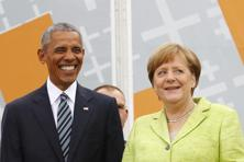 "Former US President Barack Obama praised German Chancellor Angela Merkel as one of his ""favorite partners"" during his presidency. Photo: Fabricio Bensch"