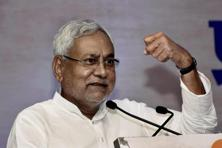 Nitish Kumar heads the JD(U)-RJD-Congress coalition government in Bihar. Photo: PTI