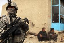 A file photo. The security forces were attacked near the province's main bus station, said Danish. Photo: Getty Images
