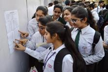 CBSE declared the results of the Senior School Certificate Examination (Class 12th). Photo: PTI