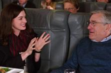 Telling the story of a 70-year old widower who signs up for an internship at an online clothes store run by a female entrepreneur, the movie happens to be Anne Hathaway's vehicle though Robert DeNiro is great too. Photo: AP