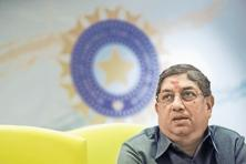N. Srinivasan, also a former BCCI president, took over as ICC chief in July last year. Photo: AFP