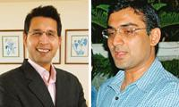 New tactic: Clearstone Venture Advisors director Rahul Khanna (Left-Abhijit Bhatlekar / Mint) and Seedfund chief financial officer Anand Lunia.